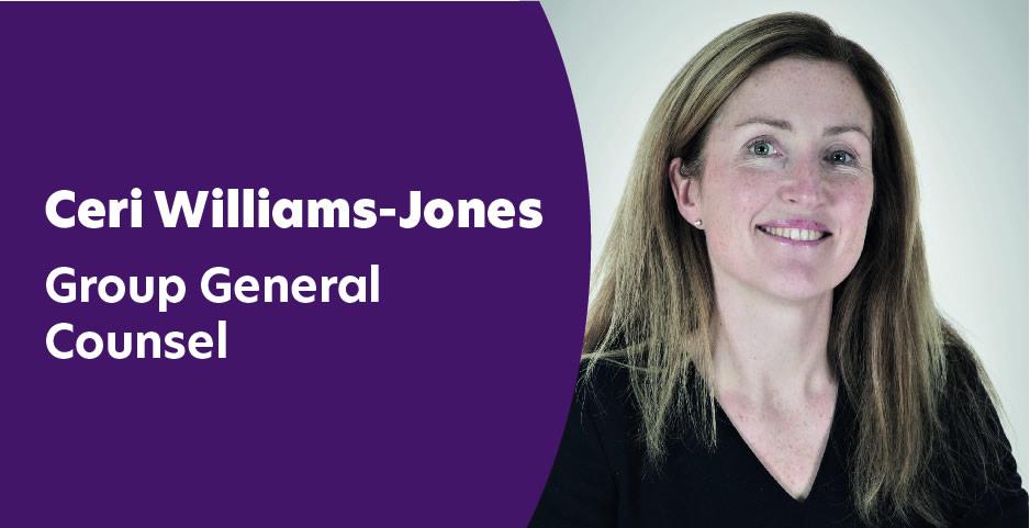 Ceri Williams-Jones - Group General Counsel