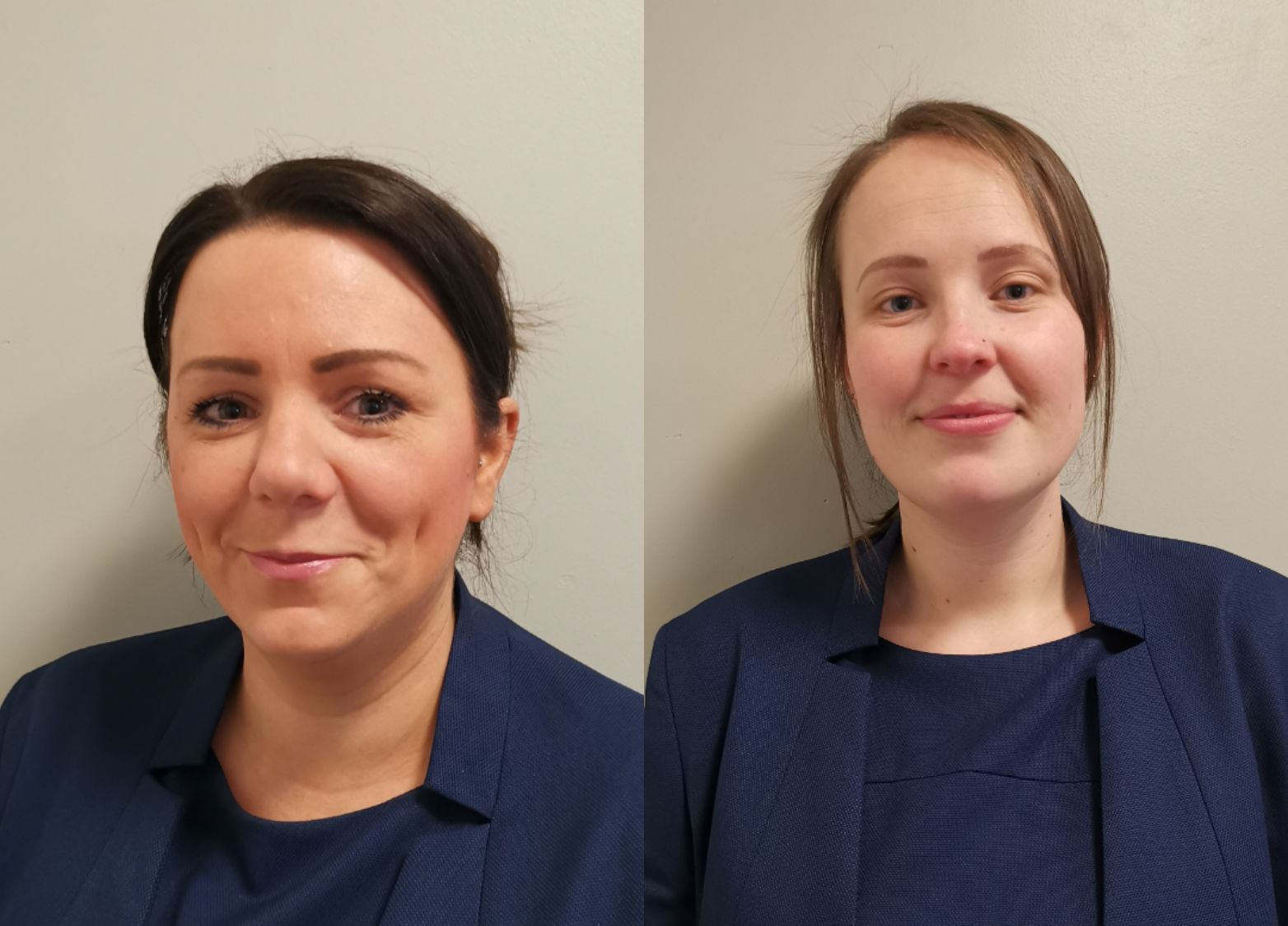 Vicky Millar and Natalie Rodgerson - Centre Director