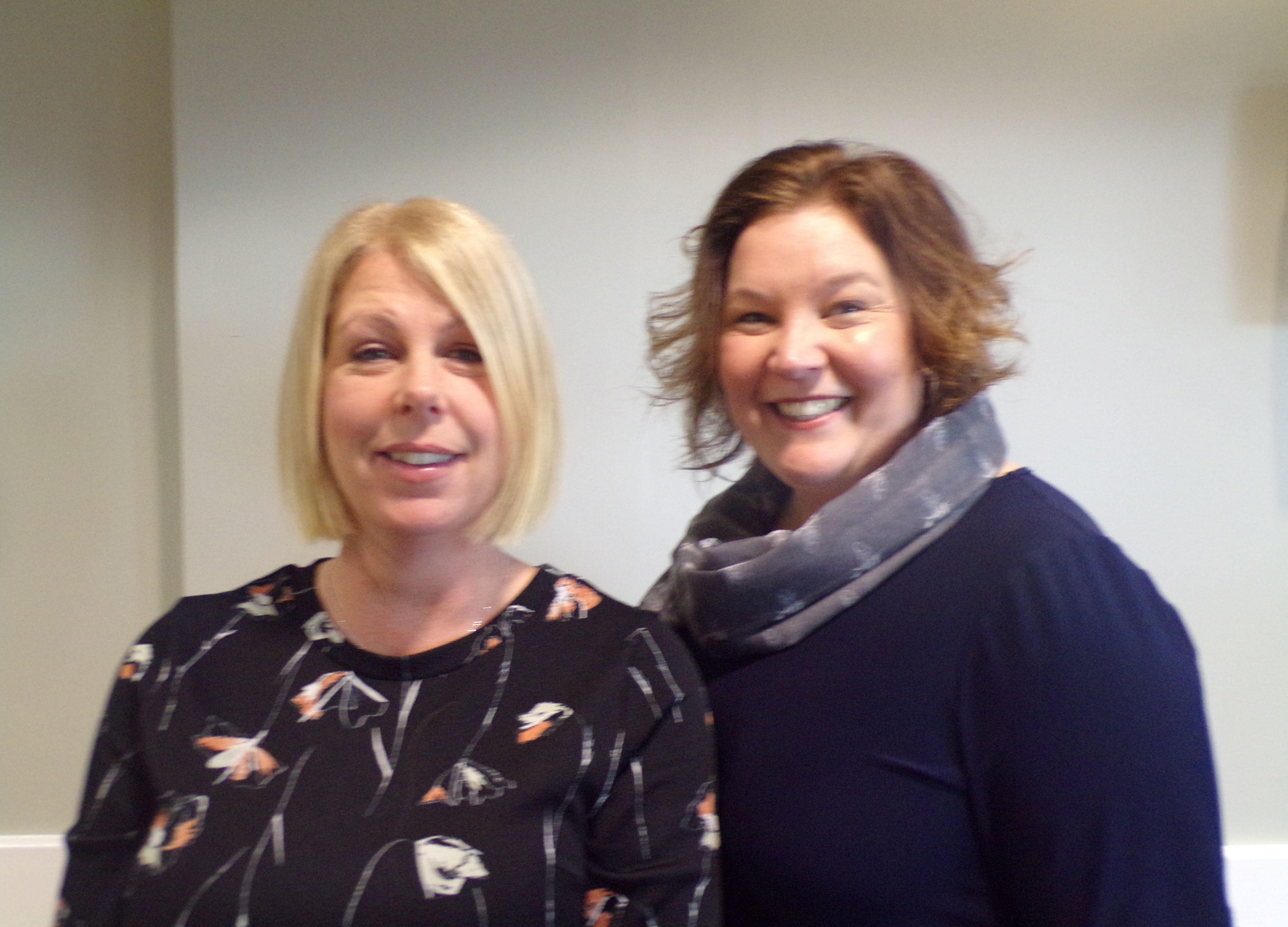 Kim Shinn and Louise Christie - Centre Director